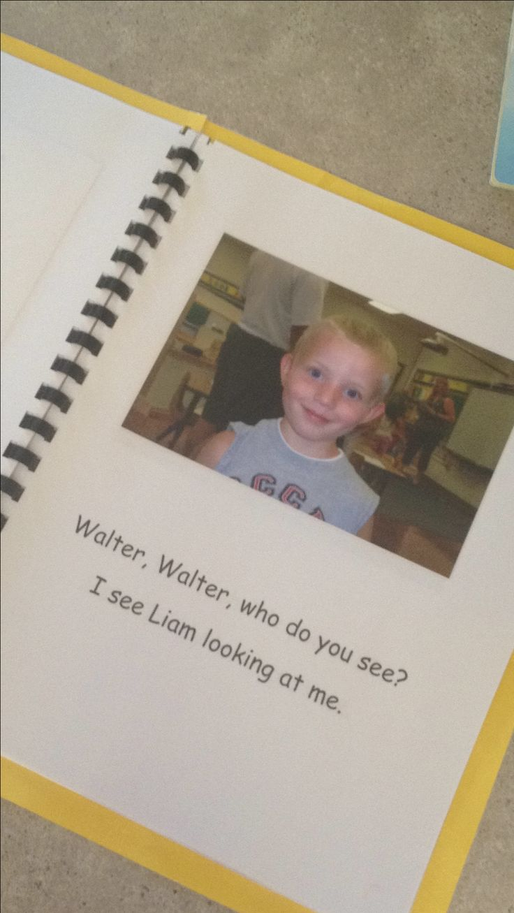 """Cute start of year activity: Walter's class made a """"4K, 4K, What Do You See?""""…"""