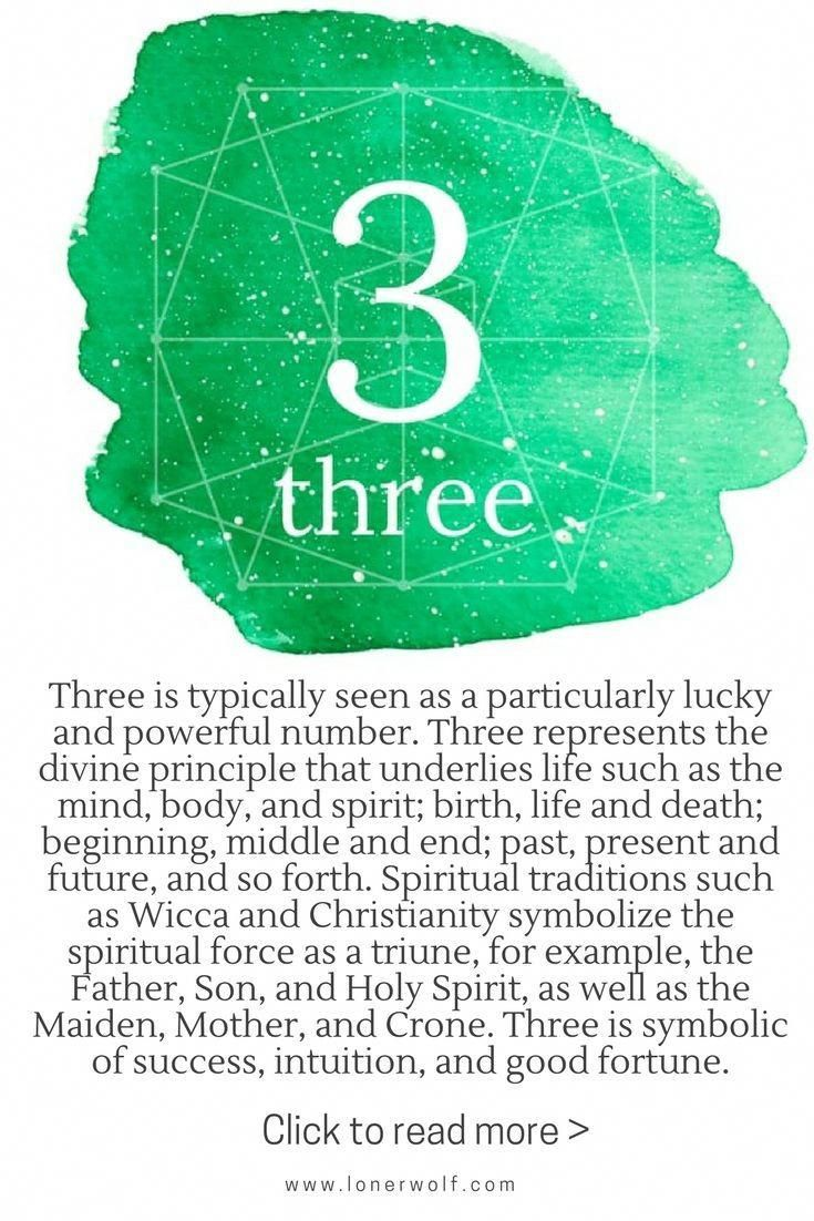 number 3 numerology # 2