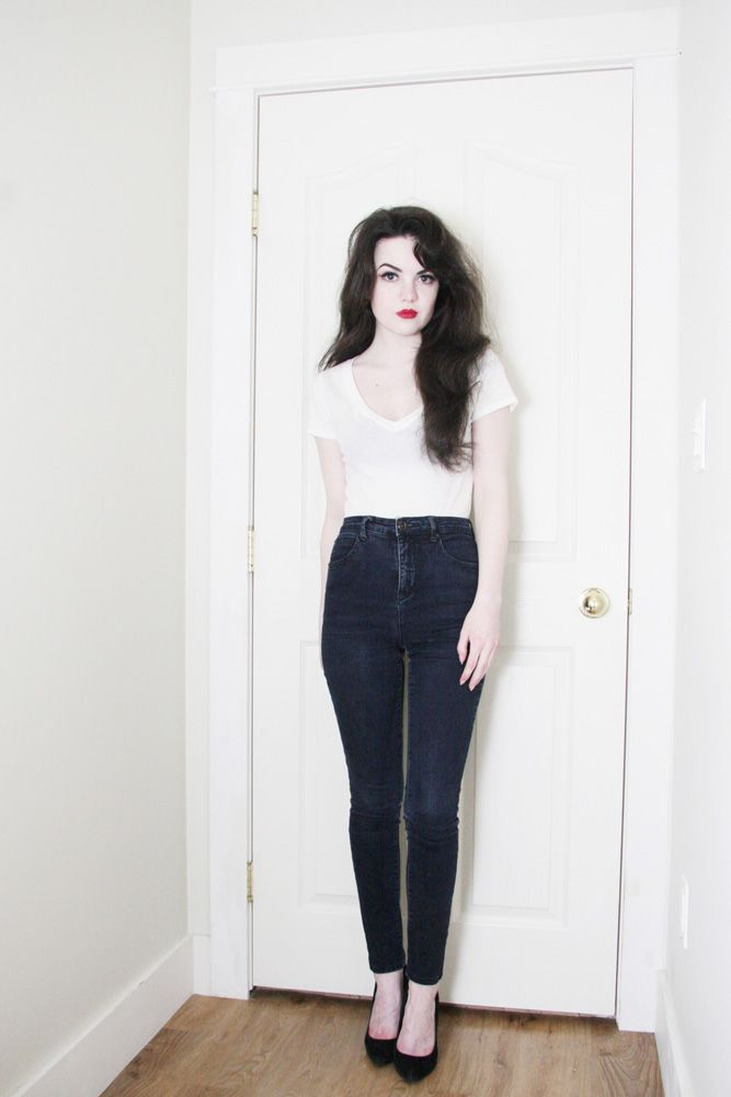 marvellous casual red lip outfit 14