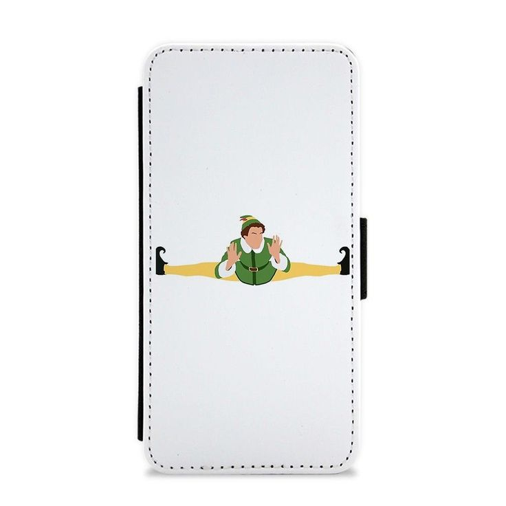 Our Buddy The Elf Splits Flip / Wallet Phone Case is available online now for just £9.99.    Fan of Elf? You'll love our Buddy The Elf Splits wallet phone case, available for iPhone & Samsung models.    Weight: 28g, Material: Polyester & Plastic, Production Method: Printed, Thickness: 15mm, Colour Sides: White, Compatible With: iPhone 4/4s | iPhone 5/5s/SE | iPhone 5c | iPhone 6/6s | iPhone 7 | iPhone 7+ | iPhone 8 | iPhone 8+ | Galaxy S4 | Galaxy S5 | Galaxy S6 | Galaxy S6 Edge | Galaxy S7