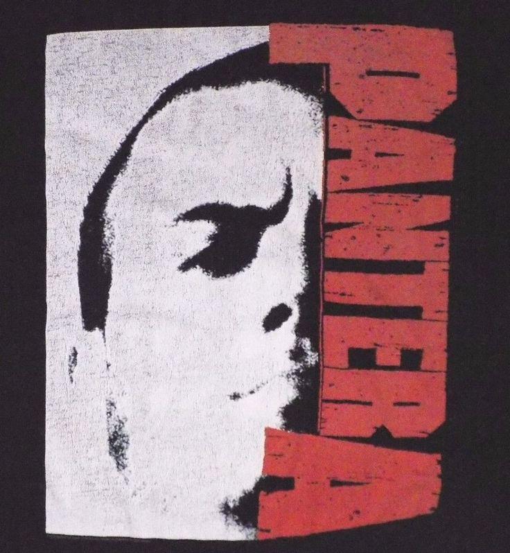 Pantera Phil Anselmo Black T Shirt Thrash Metal Far Beyond Driven Vulgar Display #unknown #GraphicTee