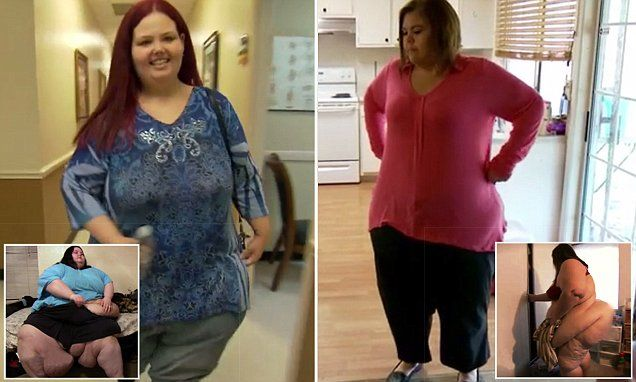 My 600-lb Life stars lose half their body weight - and ...