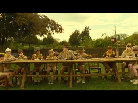 "The long-awaited trailer for Wes Anderson's eagerly-awaited new film, ""Moonrise Kingdom"" (scheduled for release on May 25th)"