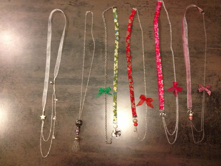 Several necklace! A lot of colours!