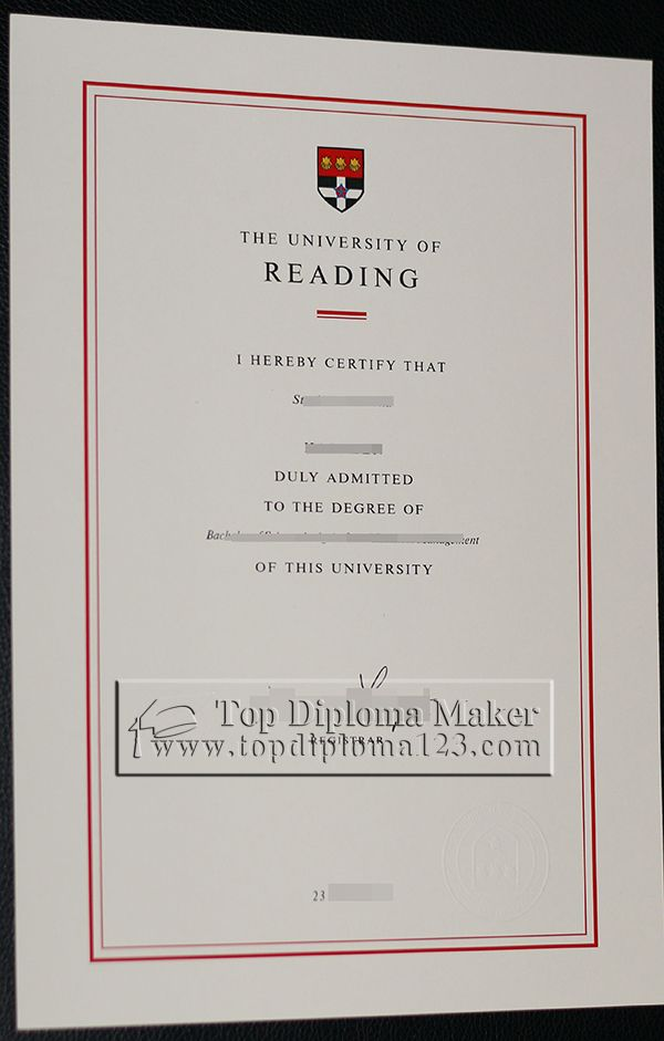 Buy Fake Degree From University Of Reading Purchase Fake Diploma