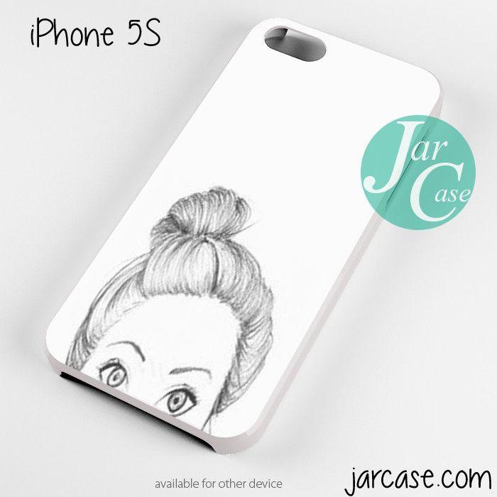 half cute face Phone case for iPhone 4/4s/5/5c/5s/6/6 plus