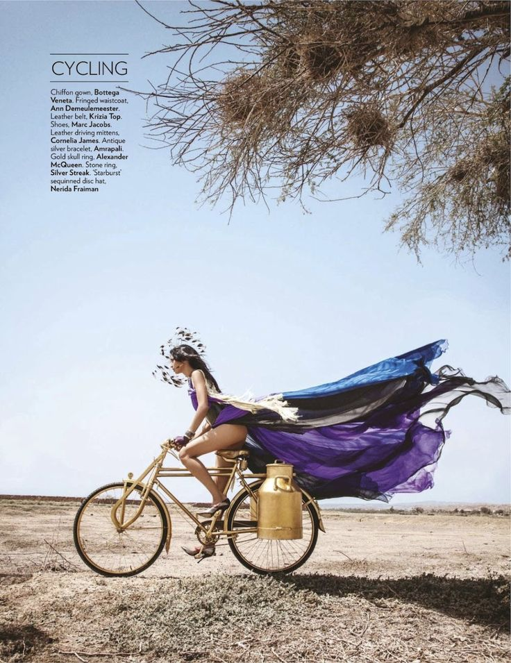 Let the games begin. Editorial: Vogue India, July 2012 - Cycling
