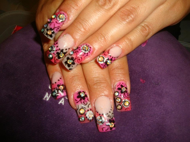 Pin by Carla Ron Novoa on uñas decoradas | Pinterest