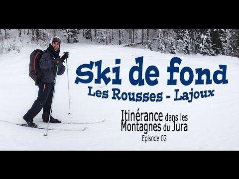 Ski de fond entre Les Rousses et Lajoux dans les Montagnes du Jura