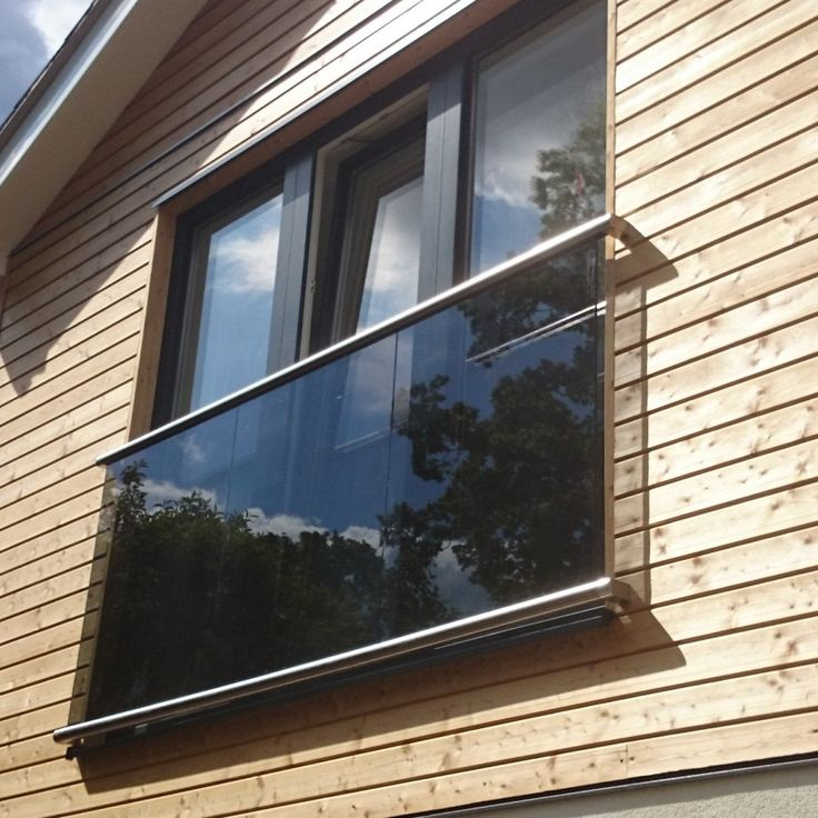 from £625 - cheaper from S3i?Wall flanged glass juliette balcony