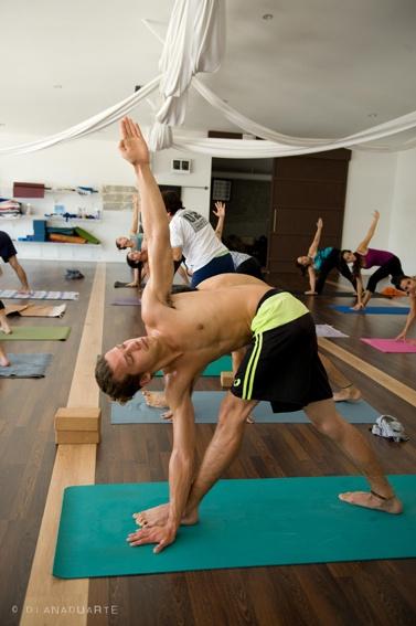 Naked mutual yoga #10