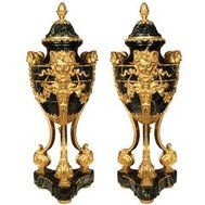 1stdibs Bronze St. Patinated Ormolu Ewers Renaissance French Urn