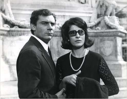 Gian Maria Volonte, and Irène Papas in We Still Kill The Old Way (A ciascuno il suo), 1967, directed by Elio Petri.