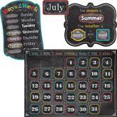 Chalk It Up Calendar Bulletin Board Set