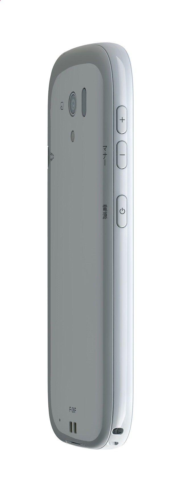 Fujitsu phones and products tech specs on techspecification F-06F 곡선이이쁘고smeg을떠올리게함