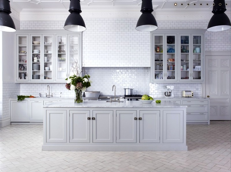Knight Moves: Bespoke Kitchens By Holloways Of Ludlow   I Like The Grey  Cabinets, Still Bright And Fresh Without Being All White.