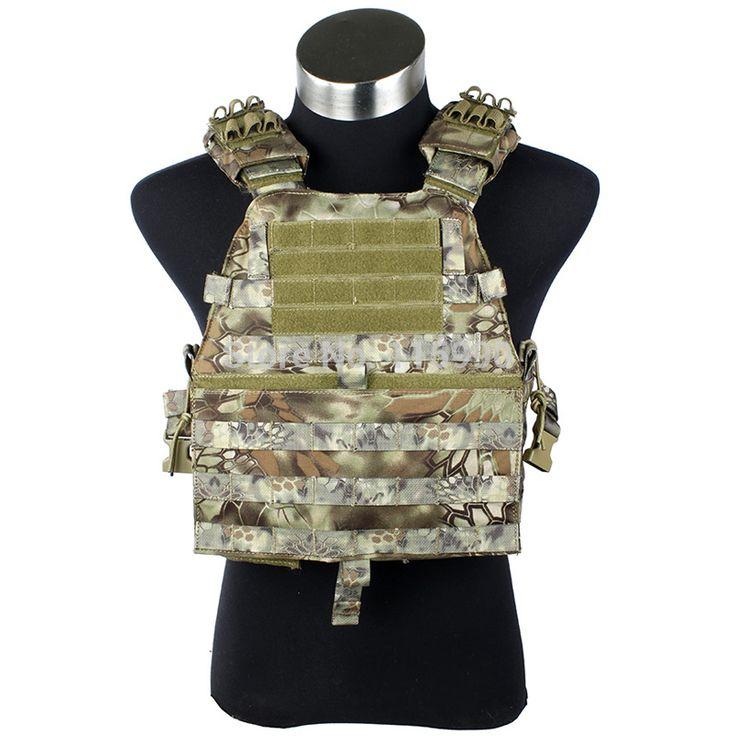 CS MAD Tactical vest  Kryptek Mardrake tactical vest Carrier/ Kryptek Molle tactical Carrier