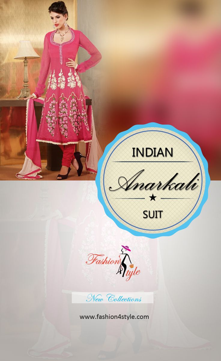 Wedding and Party Wear Anarkali Suit ✔✔✔ http://www.fashion4style.com/woman/clothing/designer-suits/page=2  #goodnight #monody #sweetdream
