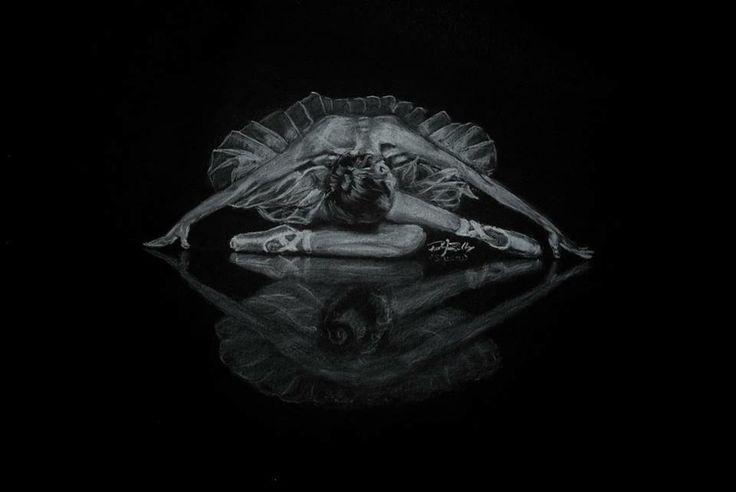 Black swan inspiration -  balerina