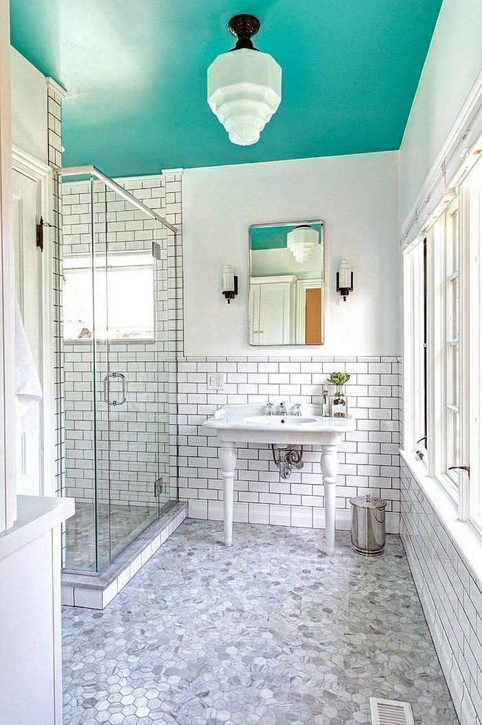 1001 Designs Uniques Pour Une Salle De Bain Turquoise Salle