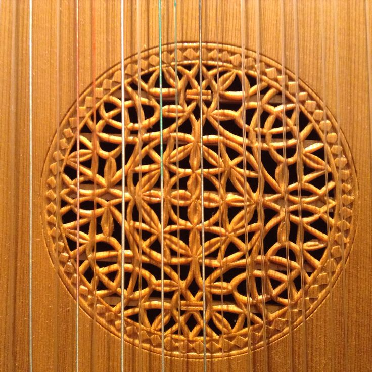 Rosette of quite outstanding craftsmanship .