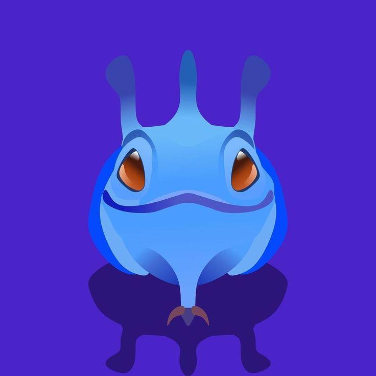 Puck the Faerie Dragon. #puck #dota2 #minimalistic #flatdesign #coreldraw #logo #game #hero #moba #onlinegames #design #graphicdesign #art #digitalart #vector #vectorart #indonesia #dota