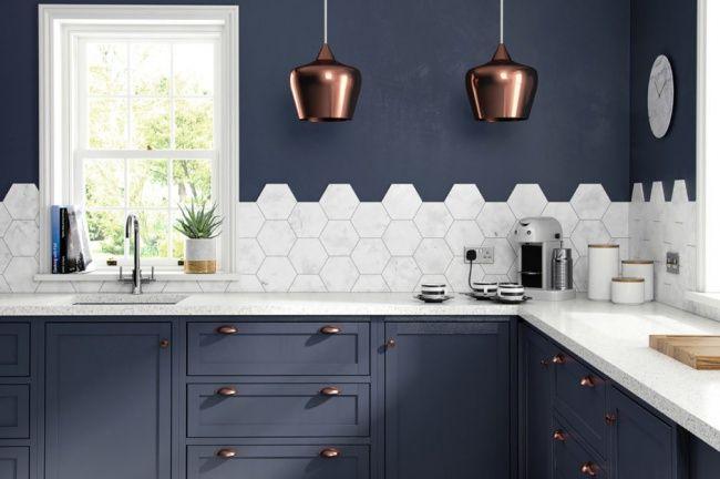 Obkladačky v kuchyni: NAOZAJ zaujímavé spôsoby kladenia kachličiek + FOTOGALÉRIA | LepšieBývanie.sk