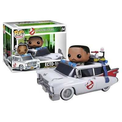 Funko Ghostbusters Pop! Movies Vinyl Collectors Set: 6 Stay Puft Man, Ecto 1 & Zeddemore
