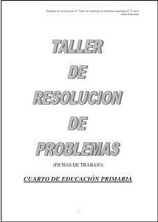 Taller resolución problemas 4º