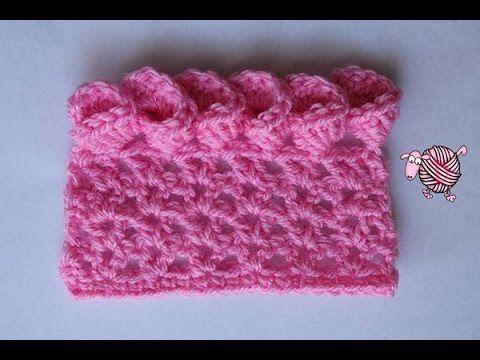 Crochet Flower Edging Video Tutorial.. Flower Edging is worked in multiples of…