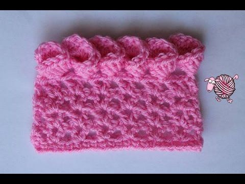 Crochet Flower Edging - YouTube