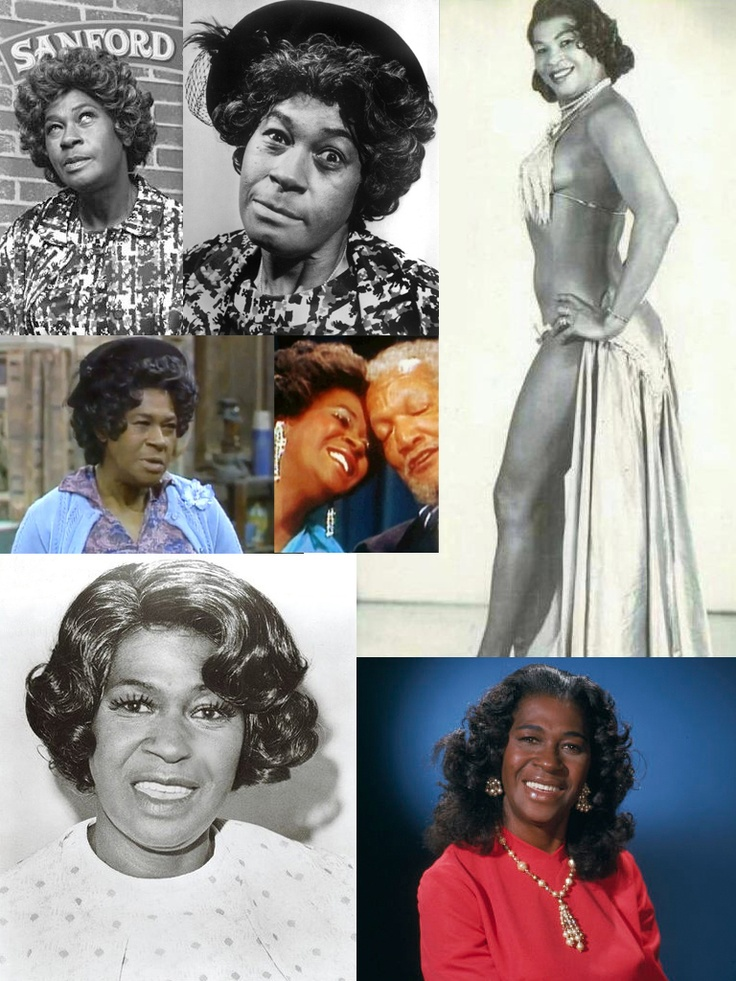 LaWanda Page famously know as Aunt Ester on Sanford & Son. YES she was a SHOWGIRL!