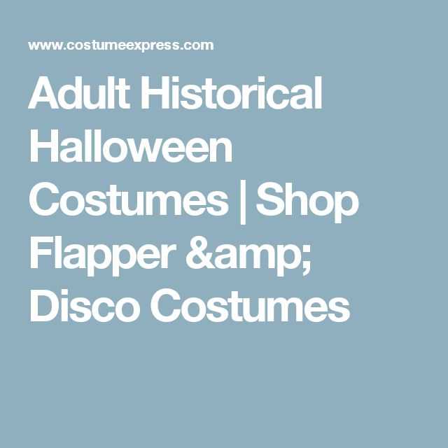Adult Historical Halloween Costumes | Shop Flapper & Disco Costumes