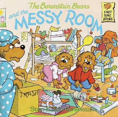 This is my favorite Berenstain Bears book EVER.  Showed I was going to be OCD even as a child.