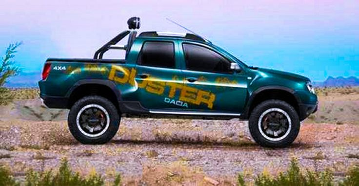 Dacia duster pick up dacia duster pinterest voitures for Caribe motor medellin