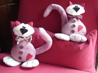 Cartamodello gatto fermaporta