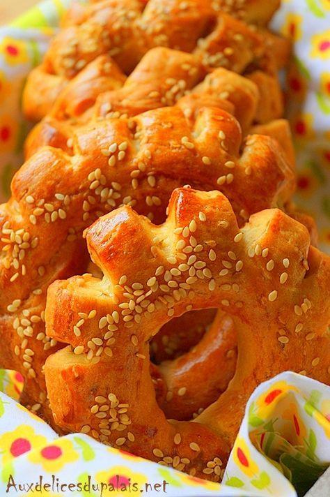 Kaak marocain brioché Kaak khamer marocain. #brioche #cuisinemarocaine #goûter