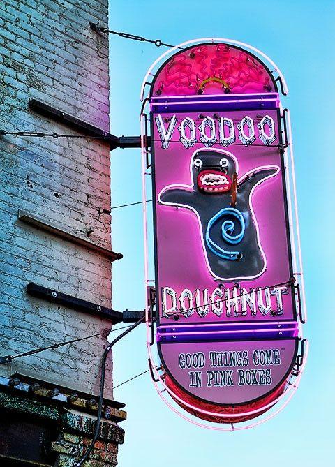 shop in portland, oregon: Voodoo Donut, Voodoo Doughnuts, Bucket List, Doughnut Shop, Favorite Places, Amanda Green, Photo, Portland Oregon