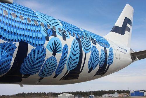 #so65 #nel blu dipinto di blu Marimekko on Finair!