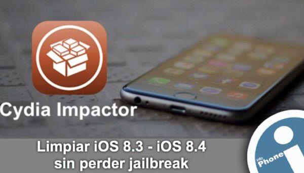 #Manual para utilizar nuevo #tweak - #Cydia Impactor. Con utilidad }Impactor se puede restaurar último #firmware sin perder #jailbreak.