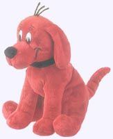 Clifford The Big Red Dog Plush Storybook Character Doll