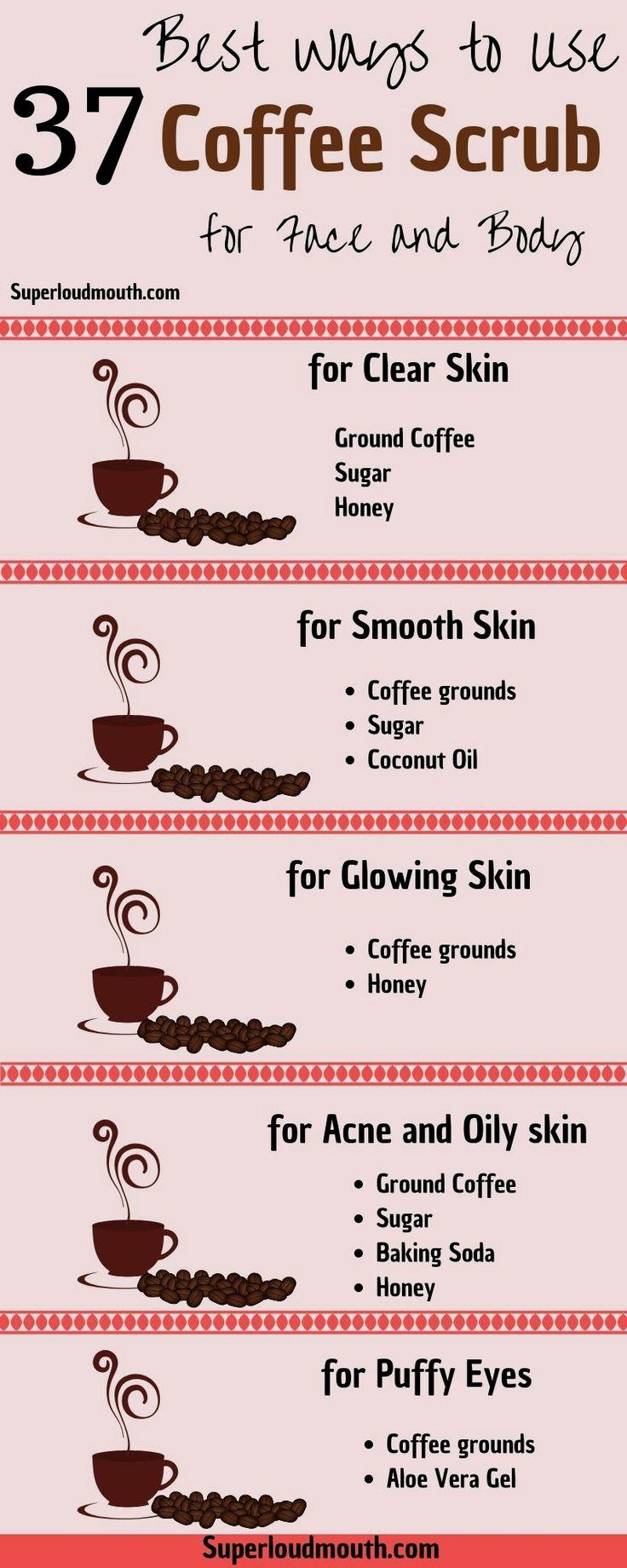 body #skin #care #coffee #beautytips #scrub #skincare
