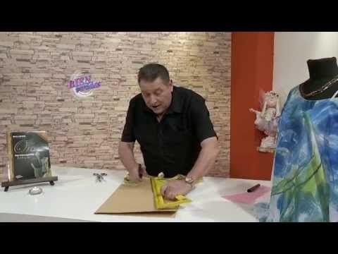 Hermenegildo Zampar - Bienvenidas TV en HD - Enseña a hacer una camisola, - YouTube