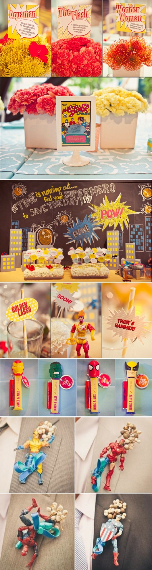 81 best Party- Superhero Adult 30th Party images on Pinterest
