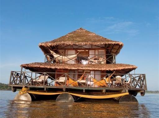 Casa flotante Amazonas #colombia