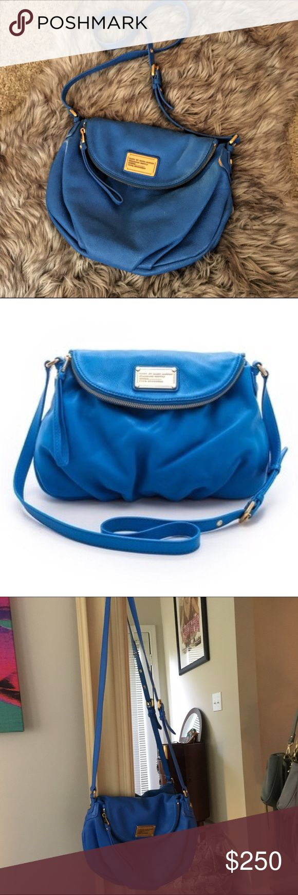 ✨ marc by marc jacobs - Electric Blue Lemonade Authentic Marc by Marc Jacobs classic Q Natasha crossbody in electric blue lemonade. EUC. So many compliments. Please read my closet rules ✨ Marc by Marc Jacobs Bags Crossbody Bags