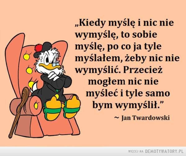 Jan Twardowski_myślenie