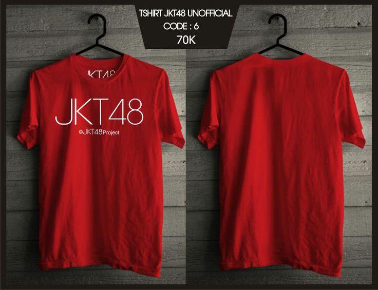 Kaos JKT48 - Pro Red -  SMS 0838 077 97257