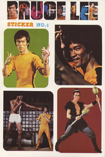 Bruce Lee stickers!