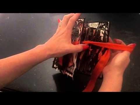 Lisa Blastick as Beyond Beauty making a Vintage Halloween Mini Album; time 12:01; May 4, 2013